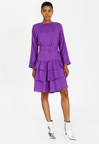 Vero Moda - July Long Sleeve Dress Pale Purple