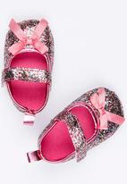 POP CANDY - Bow  Pump Mid Pink