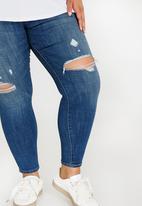 Levi's® - 310 Longer length shaping super skinny jeans - blue