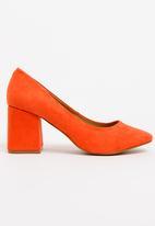 Madison® - Brantley Block Heel Courts Orange