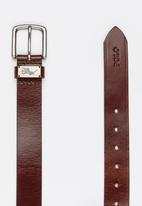 POLO - Jacob Leather Belt Brown