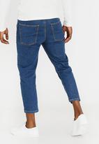 STYLE REPUBLIC - Nord Straight Leg Jeans Blue