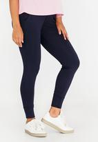 Cherry Melon - Basic Stretch Joggers Navy