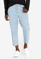 STYLE REPUBLIC - Scand Skater Jeans Mid Blue