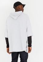 STYLE REPUBLIC - Oversized Cotton Hoody Grey
