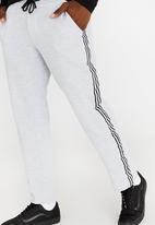 STYLE REPUBLIC - Urban Fleece Trackpants Grey