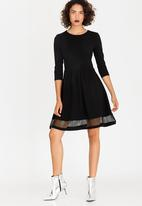 ONLY - Xena 3/4 Dress Black
