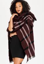 STYLE REPUBLIC - Stripe Wrap Maroon