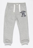 MINOTI - Washed Out Joggers Grey Melange