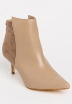dbae1629d Becca Ankle boots Nude Miss Black Boots | Superbalist.com