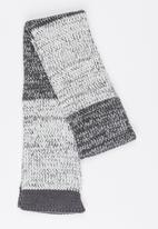 MINOTI - Extra Long Stripe Scarf Grey