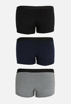 STYLE REPUBLIC - Multi 5 Pack Plain Brief Multi-colour