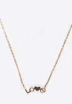 POP CANDY - Love Pendant Necklace Rose gold