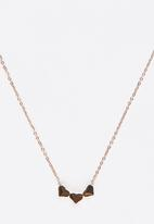 POP CANDY - Heart Pendant Necklace Silver