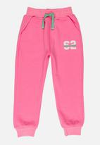 POP CANDY - Fleece joggers - mid pink