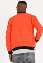 STYLE REPUBLIC - Vincent Base Bomber Jacket Orange