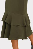 edit - Frilly Skirt Dark Green