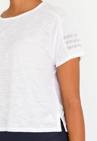 adidas - ID stripe tee - white
