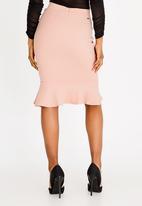 Sissy Boy - Girl Boss Midi Skirt Pale Pink