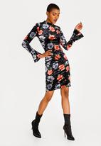 Sissy Boy - Girl Boss Velvet Dress Black