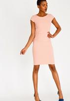 Sissy Boy - Girl Boss Tailored Dress Pale Pink