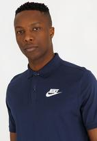05ceee792 M NSW POLO SS MATCHUP JSY Navy Nike T-Shirts
