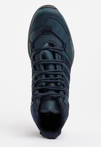 UrbanArt - Bolt 1Nub Lace Up Boots Navy