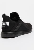 PUMA - Puma Mega NRGY Trainers Black and White