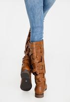 Madison® - Peyton Knee-Length Boots Brown