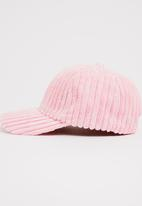 Joy Collectables - Corduroy Peak Cap Pale Pink