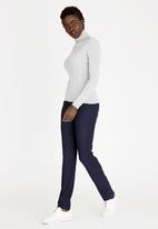 edit - Relaxed Straight Cut Leggings Navy