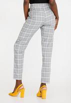 STYLE REPUBLIC - Frill Detail Smart Pants Grey