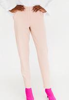 STYLE REPUBLIC - Frill Detail Smart Pants Rose