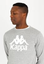 KAPPA - Authentic crew sweatshirt grey