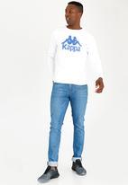 KAPPA - Authentic Crew Sweatshirt White