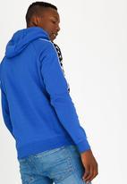 KAPPA - Banda Authentic Brushed Fleece Hoody Blue