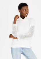 Rip Curl - Rollneck Sweater Off White