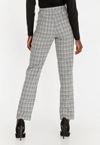 edit - Regular Straight Cut Pants Grey