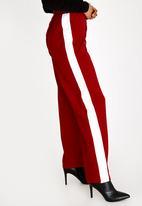 c(inch) - Racing Stripe Pants Red