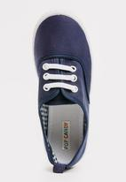 POP CANDY - Lace Up Sneaker Navy
