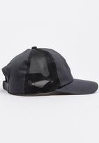 6a9f7c1464f Essential 5 Panel Cap Black Asics Tiger Headwear