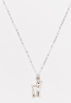 Jewels and Lace - Little Deer Necklace Silver