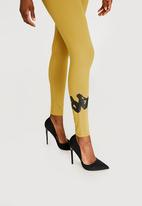 KAPPA - Alpha Slim Fit Leggings Yellow