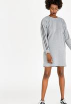 STYLE REPUBLIC - Atheleisure Sweater Dress Grey