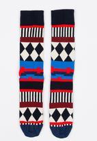 Happy Socks - Disco Tribe Anniversary Socks Multi-colour