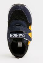POP CANDY - Velcro strap sneaker - navy