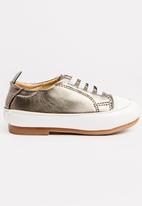 POP CANDY - Lace Up Sneaker Grey