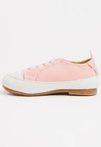 POP CANDY - Lace Up Sneaker - Mid Pink