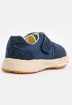 POP CANDY - Lace up velcro strap closure - navy