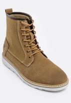 e3665cb033cc Adam Hi Nylon Boot Brown JEEP Boots